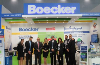 Boecker unveils innovative products at Qatar show