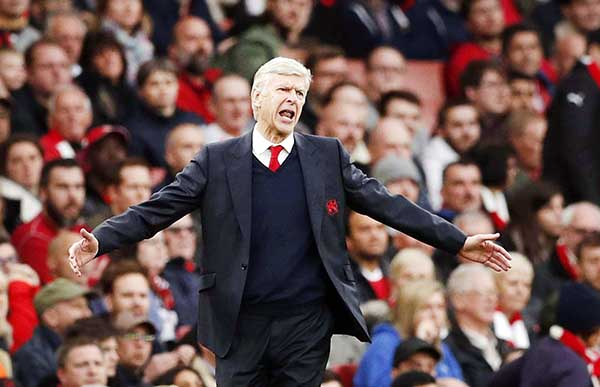 Premier League: WENGER DENIED 'BIRTHDAY WIN'