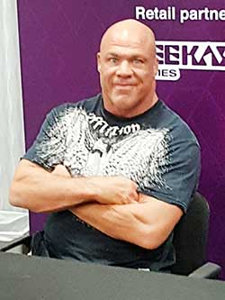 Ex-wrestling star a big hit at IGN forum