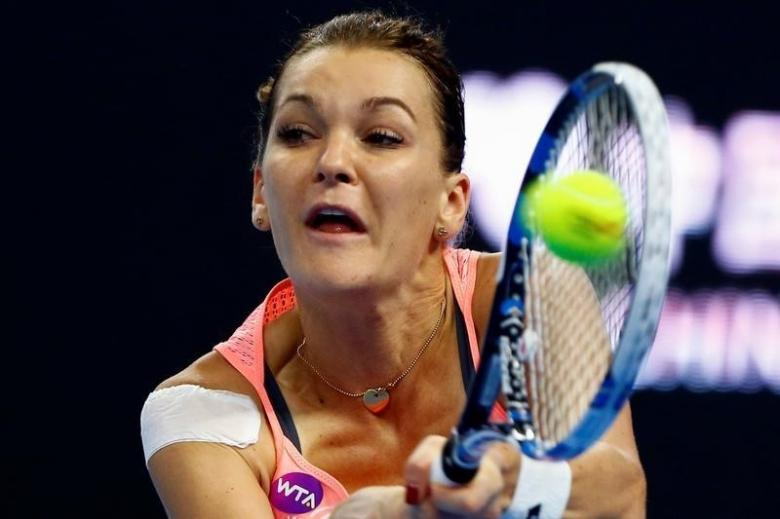 Radwanska hoping for luck and pluck in WTA Finals defence