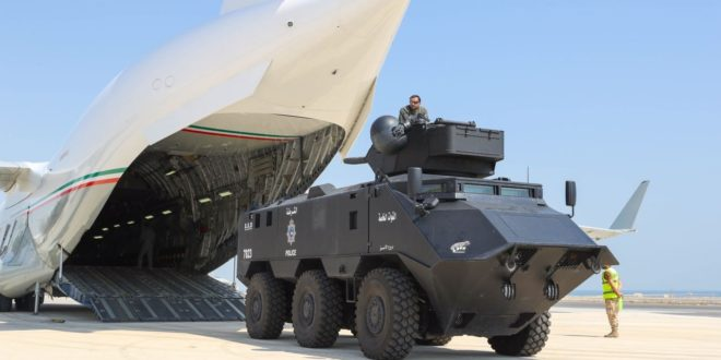 Kuwaiti security unit heads to Bahrain