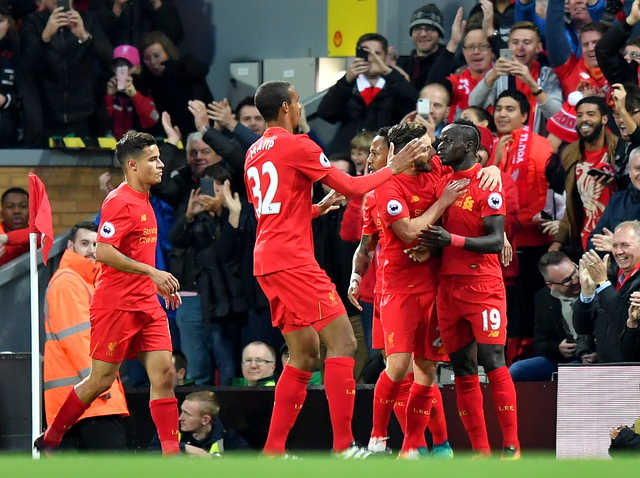 Fluent Liverpool beat West Bromwich Albion but miss out on top spot