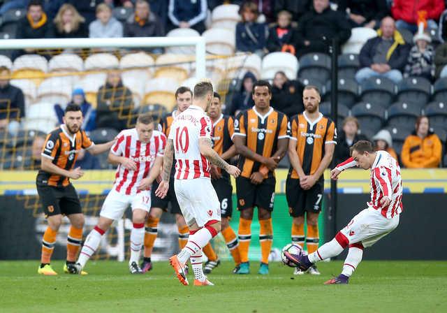 Sublime Shaqiri double lifts Stoke City to win at Hull City