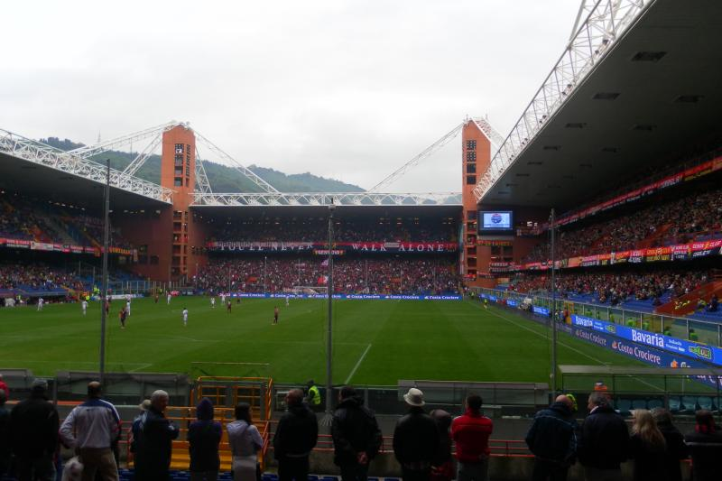 Technology blip halts Genoa derby