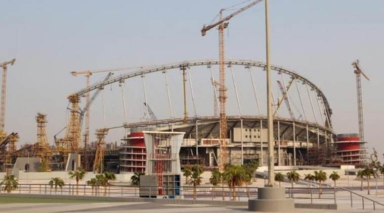 Qatar announces 'work-related' death at World Cup stadium site