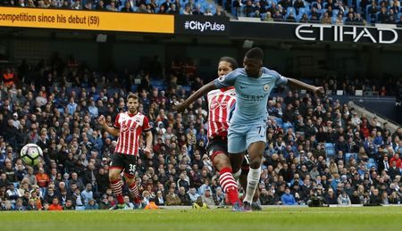 Iheanacho makes instant impact as Manchester City draw with Southampton