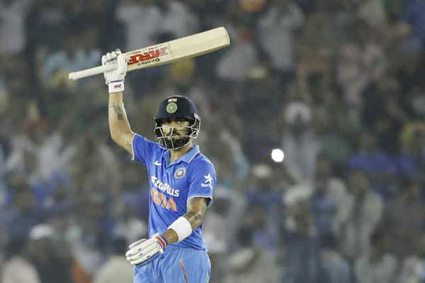 Kohli's 154 takes India to 7-wicket win over New Zealand