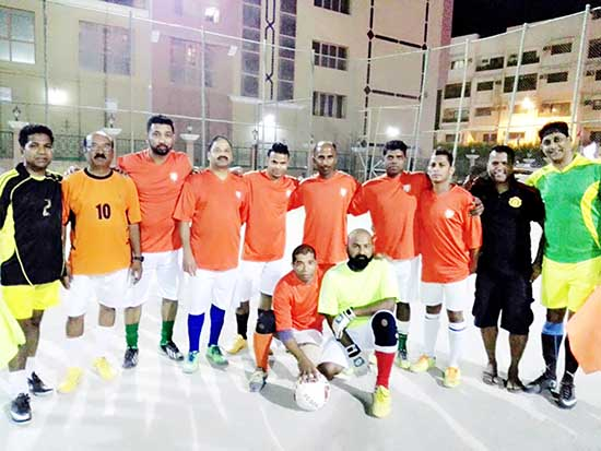 Bahrain football: North Goa Orange rout Yellow