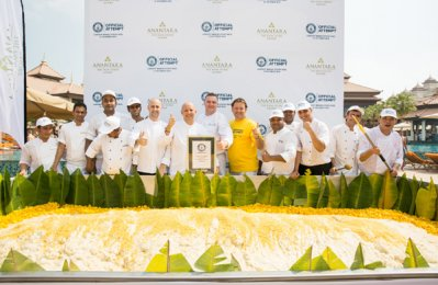 Anantara The Palm Dubai enters Guinness World Record
