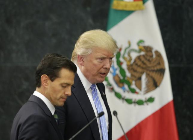 Mexico president says Trump visit could have been done better