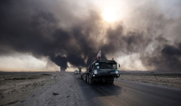 Iraq forces press Mosul assault, hunt Kirkuk attackers
