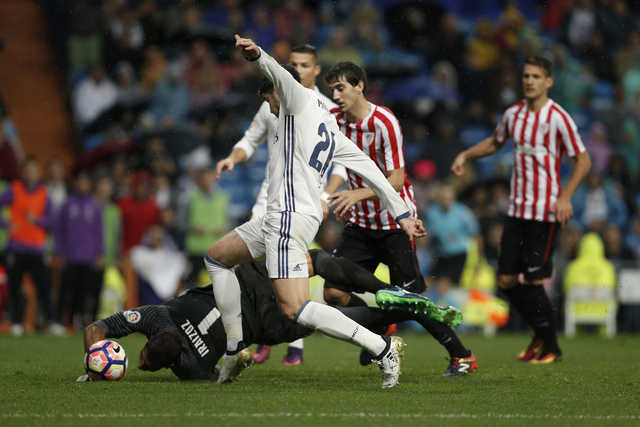 Morata makes the most of cameo again to rescue Real Madrid