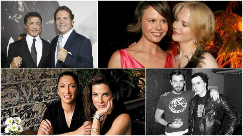 21 famous Hollywood stars and their not-so-famous siblings