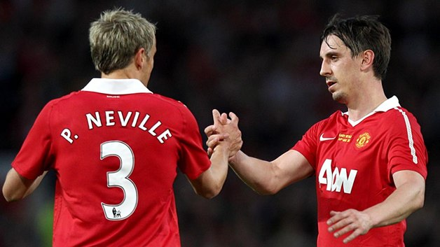 Nevilles slam Manchester United midfield 'mannequins', 'garbage defending'