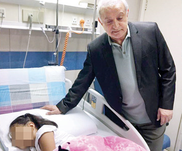 Kuwaiti student sustains critical injuries after fall at school