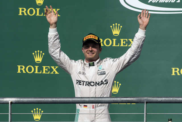 Lucky Rosberg targets Mexico win