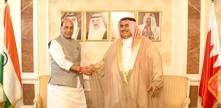 Minister of Foreign Affairs receives India's Minister of Home Affairs