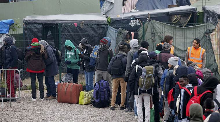 France begins mass destruction of migrant camp in Calais