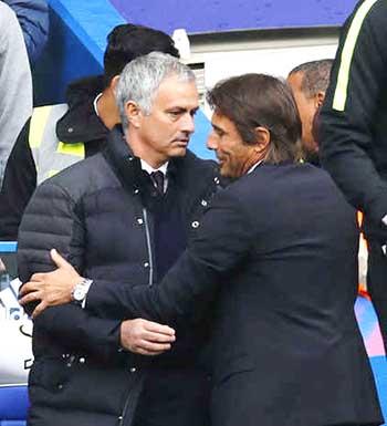 Mourinho accused Conte of 'humiliating' United
