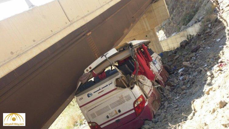 6 killed, 53 injured as bus falls off bridge