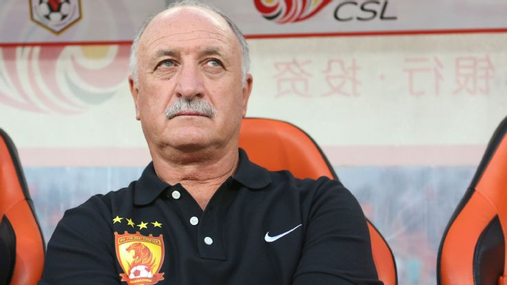 China's Guangzhou Evergrande extend Scolari's contract