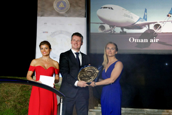 Oman Air awarded Signum Virtutis seal of excellence
