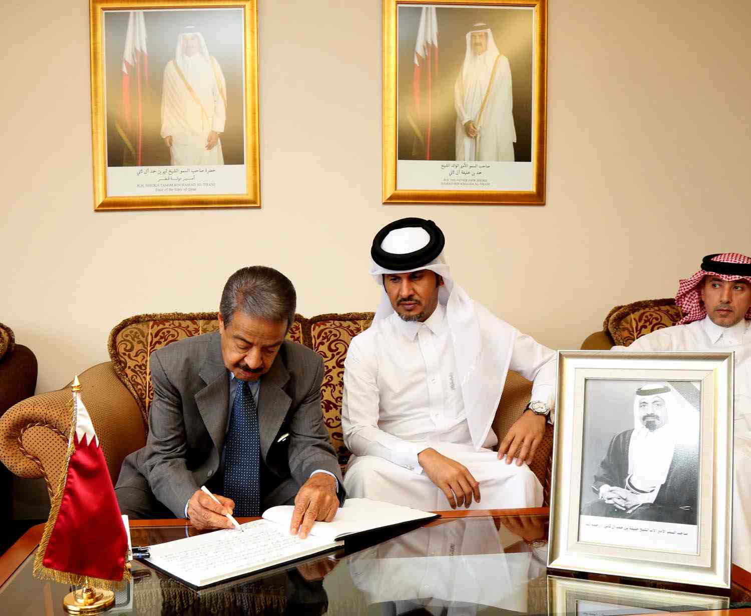 Premier extends condolences to Al Thani family