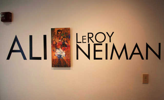 Artwork stolen off wall at Muhammad Ali Centre in Kentucky