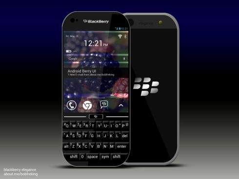 BlackBerry launches new Android smartphone