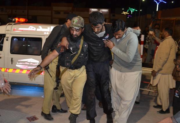 Gunmen kill 59 in attack on police academy in Pakistani city of Quetta