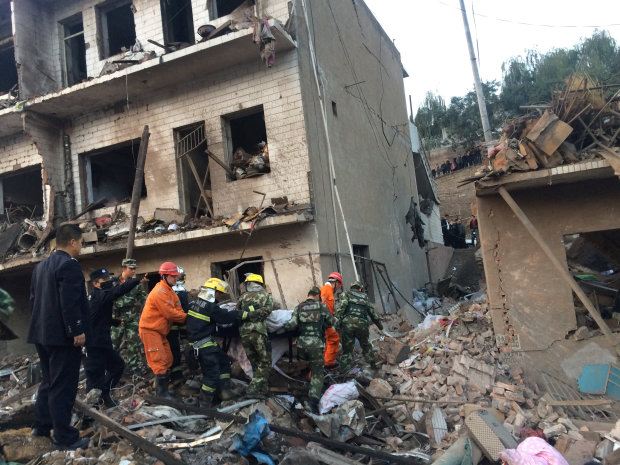 Blast kills 14, injures 147 in northwestern China