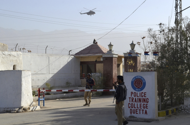 Islamic State claims attack on Pakistan police academy, 61 dead