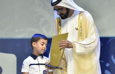 Algerian boy, 7, wins Arab Reading Challenge