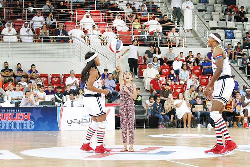 Globetrotters treat for fans