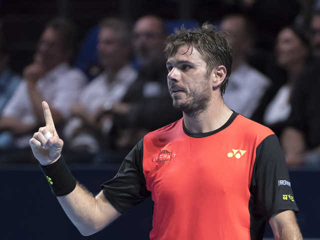 Wawrinka ends Basel loss streak with opening win