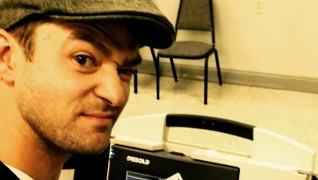 Pop singer Timberlake will not be investigated for ballot selfie