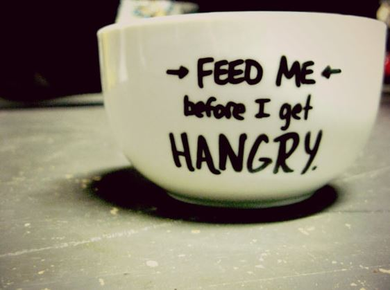 11 foods to eat if you are 'Hangry'