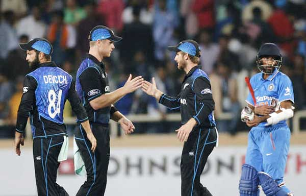 Kiwis tame India to square series