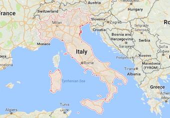 Magnitude-5.4 quake strikes Italy