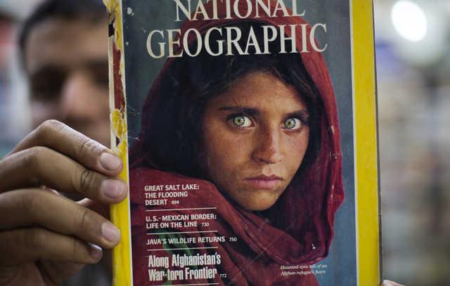 Pakistan arrests National Geographic's famed 'Afghan girl'