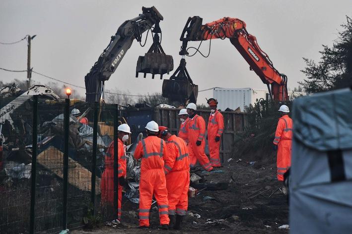 Clearance of Calais Jungle accomplished, says France