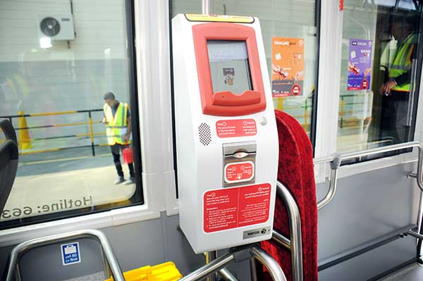 New drive for bus smart cards