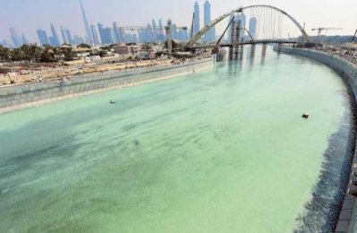 $544m Dubai Water Canal set for November launch