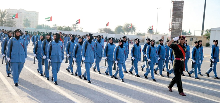 14,000 Emirati women work in UAE police force
