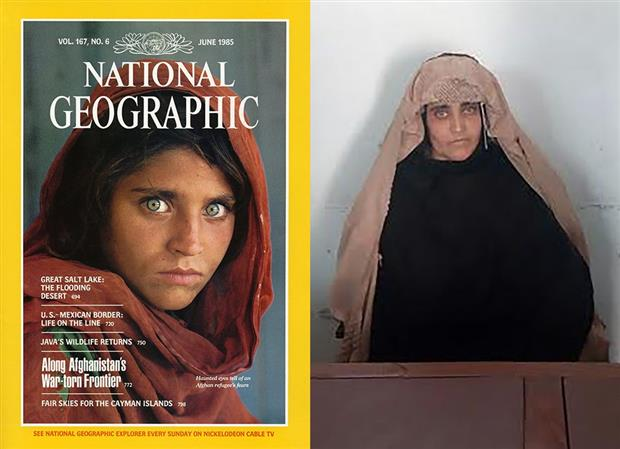 National Geographic's 'Afghan girl' arrested in Pakistan