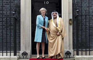 UK Conservatives stress Bahrain's reforms, closer ties