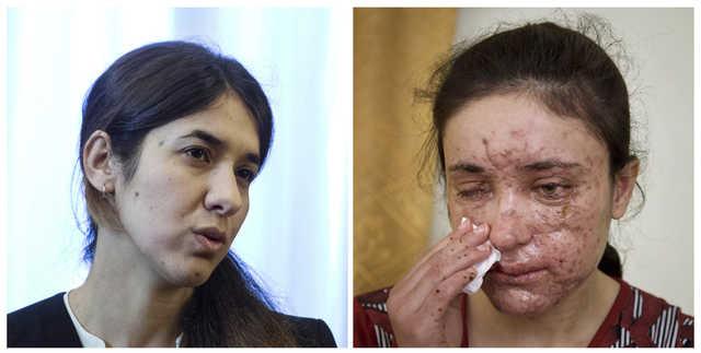Two Yazidi women who escaped IS torture win EU Sakharov prize