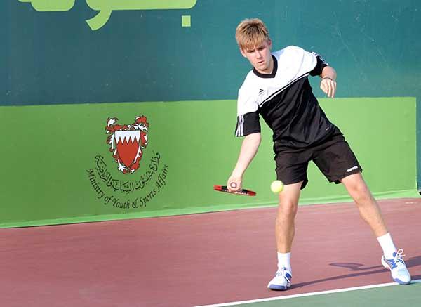 ITF Junior Tennis Championship: Sebastian enters semis