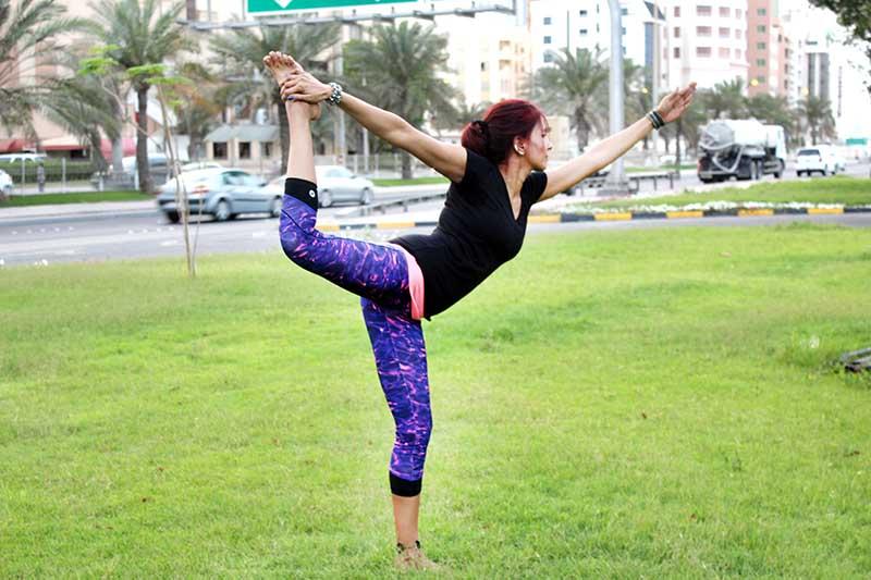 Natarajasana - Dancer's Pose