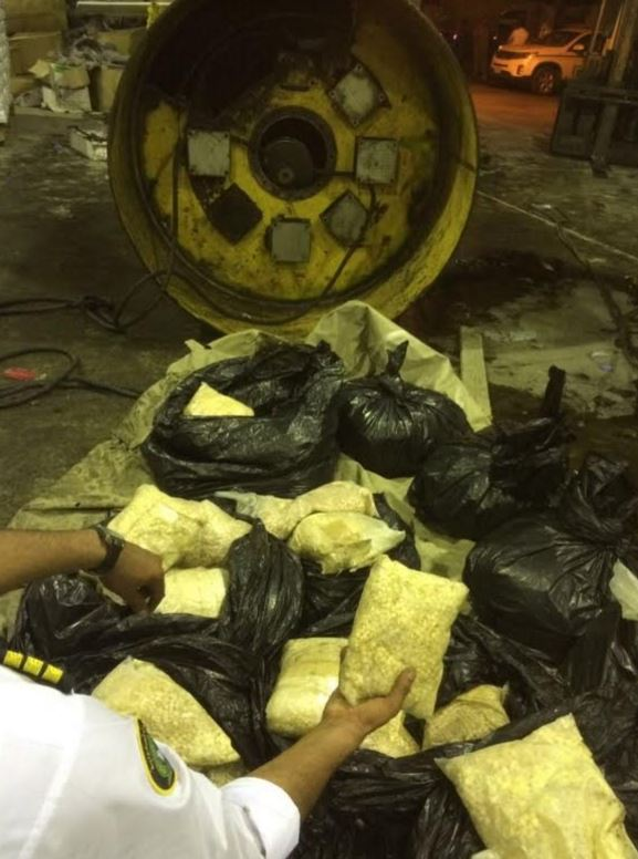 Saudi Customs foils bid to smuggle 876,421 amphetamine pills